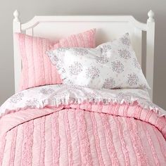 pink bedding