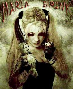 """Maria Brink -In This Moment """" Voodoo Doll """" Maria Brink, Hard Rock, Ladies Of Metal, Metal Girl, Beautiful Dark Art, Heavy Metal Rock, Women Of Rock, Movie Poster Art, Thrash Metal"""