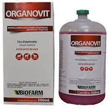 organovit - aplicamos 6 ml bovino