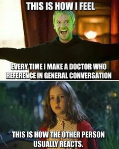 Doctor Who refrences. :)