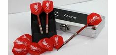 Red Dragon Darts FB13 Liverpool Football Club Dart Flights (3 Sets) with Red Dragon 18g Tungsten Darts, Personalised  For football crazy darts fans (Barcode EAN = 5021921045258). http://www.comparestoreprices.co.uk/personalised-christmas-cards/red-dragon-darts-fb13-liverpool-football-club-dart-flights-3-sets-with-red-dragon-18g-tungsten-darts-personalised-.asp