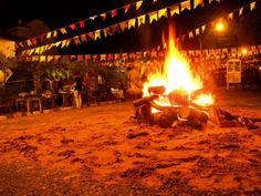 festas juninas fogueira