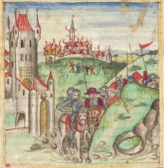 Meisterlin, Sigismundus / Mülich, Hektor: Augsburger Chronik -  SuStB Augsburg 2 Cod H 1 - 1457 -  Folio 172