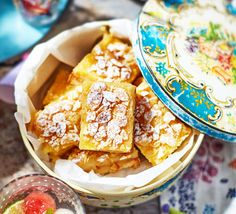 These zesty bars will disappear quickly so make sure you save one for yourself! Jazz up your standard shortbread recipe - great for a summer party