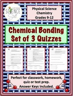 40 Best Chemical Bond Images Chemistry Classroom Teaching