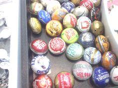 Bottle cap beads