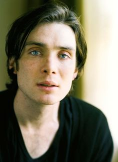 Cillian Murphy...dark hair, blue eyes and cheek bones, what more do you want?