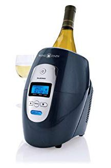 Looking for promotional bottle openers or custom bar products? Purchase this Brookstone Iceless Wine Chiller and distill your branding to a variety of people today. White Wine, Red Wine, Warm Wine, Wine Chillers, Types Of Wine, Expensive Wine, Wine Refrigerator, Sparkling Wine, Engagement Gifts