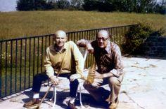 Aimé Michel y Antonio Ribera en el año 1977