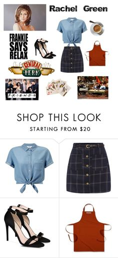 """""""Rachel Green from friends outfit"""" by rachelgreene16 on Polyvore featuring Miss Selfridge, STELLA McCARTNEY and Williams-Sonoma"""