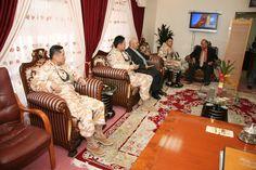쿠르드 자치정부 내무부 방문