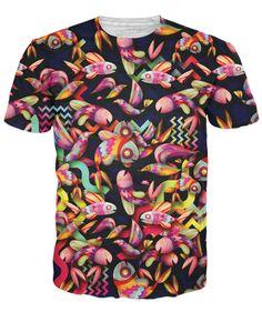 Fish Birds T-Shirt