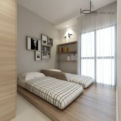 Storage With Coziness @ Parc Vera Hougang - Interior Design Singapore Interior Design Singapore, Interior Design Boards, Interior Colors, Small Room Design, Bed Design, Platform Bedroom, European Home Decor, Home Decor Trends, Decor Ideas