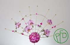 #weddingbouquet in a simple fan shape
