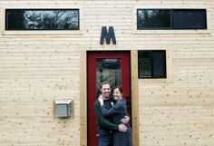 Parents opt out of rat race with tiny house ...best decision ever!
