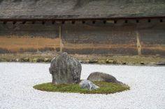 Ryoan-ji, Kyoto, Japan