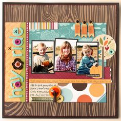 Happy Fall to my Web Friends! I am so excited! This month I was asked to be a Guest Designer at My Creative Scrapbook.com and I got to work with the Creative Kit filled with all kinds of Bel…