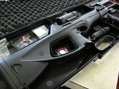 Beretta CX4, this would be under the foot of my bed