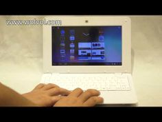 """Watch this video of 7"""" mini laptop with all settings and latest technology provided by Wolvol. Buy it with a good price in this festive season. #Wolvol #minilaptop"""