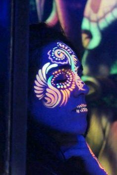 festival colour face*