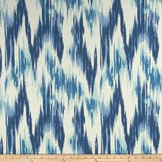 Home Accents Casbah Ikat Slub Baltic Blue Fabric Home Accent Fabrics http://www.amazon.com/dp/B00IWZ6CGG/ref=cm_sw_r_pi_dp_36ARvb069GK6V