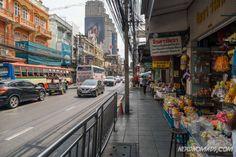 Street food at Charoen Krung Road and Silom Road