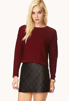 NEW at Forever 21 | Quilted Mini Skirt TIPS  Save 10% Off Your Order! Ends: 11.17.2013