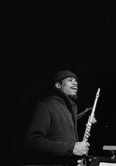 Eric Dolphy with flute
