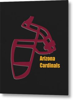 195f8a9d1 Cardinals Metal Print featuring the photograph Arizona Cardinals Retro by Joe  Hamilton Joe Hamilton