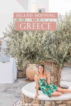 Island hopping in Greece is one of the biggest European travel experiences, and if you're planning your first trip to the Greek Islands, here's what you need to know about island hopping around Greece for first timers! #Greece
