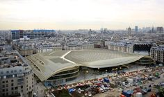 €1bn Les Halles revamp unveiled in Paris with sweeping golden roof canopy
