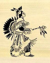 Free MSN Scroll Saw Patterns | 07-W3-4 - Native American Downloadable PDF Scroll Saw Pattern