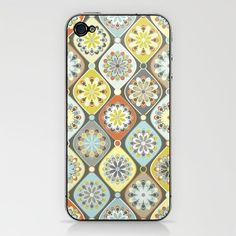 #SOCIETY6 I am straight up OBSESSED. Only $15 for this iPhone skin that would look wonderful on my #iPhone4