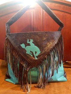 Fringe western cowboy diaper bag by ashtensmeenk on Etsy, $55.00