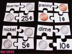 Money puzzles and a bunch of other fun games to learn about money