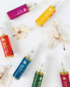 One of our FAQ's is if we have sample sizes of our products to purchase so that you can try all of our blends to see which ones you resonate with most. And the answer is ABSOLUTELY! We have Mini Collection of our Aura Mists + Balancing Serums. GORGEOUS photo by @guidetowellness 💛