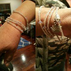 Waistbead bracelets.