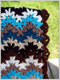 Ravelry: quilterkat's Vintage Crocheted Throw & Afghan