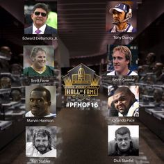 The Class of 2016 Pro Football Hall of Fame Inductees!