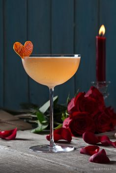 The Scarlet Crush cocktail is the perfect Valentine& Day drink to enjoy with your special someone. Cocktail Recipes, Cocktails, Silver Tequila, Romantic Evening, Schnapps, Ginger Beer, Valentines Day Party, Blood Orange, Cocktail
