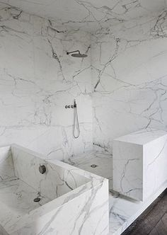 Marble all over! | Neuilly apartment by Joseph Dirand #bathroomdesign #interiordesign #trends