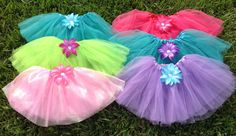 6 Winx Club Fairy Tutus Winx Club Party Favors by partiesandfun, $48.00