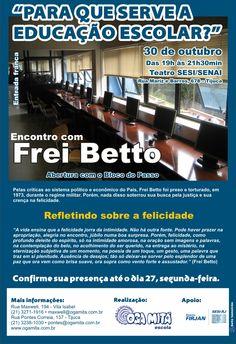 """Comunicado 5 """"Encontro com Frei Betto"""" - out.2009"""