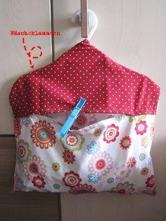 Wäscheklammernbeutel, clothespin bag,