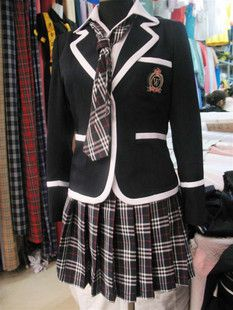 Japanese School Girl Uniform Cosplay Costume Surcoat
