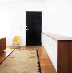 Floating Credenza Plain Front Cabinets via Brick House, Remodelista