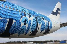 Finnair A330 Marimekko -- The difference between vintage cool and corporate doldrums.