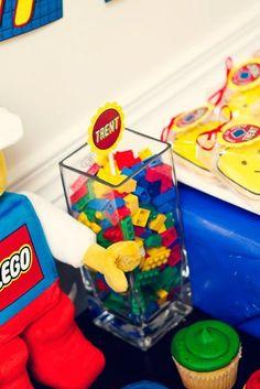 cute lego centerpiece