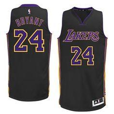 Los Angeles Lakers Adidas Black Kobe Bryant Swingman Revolution 30 Jersey  (L) - http dfe8151d5