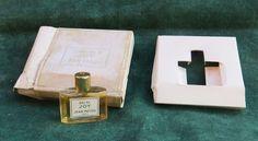 ancien flacon parfum miniature eau de de Joy Jean Patou - old miniature perfume